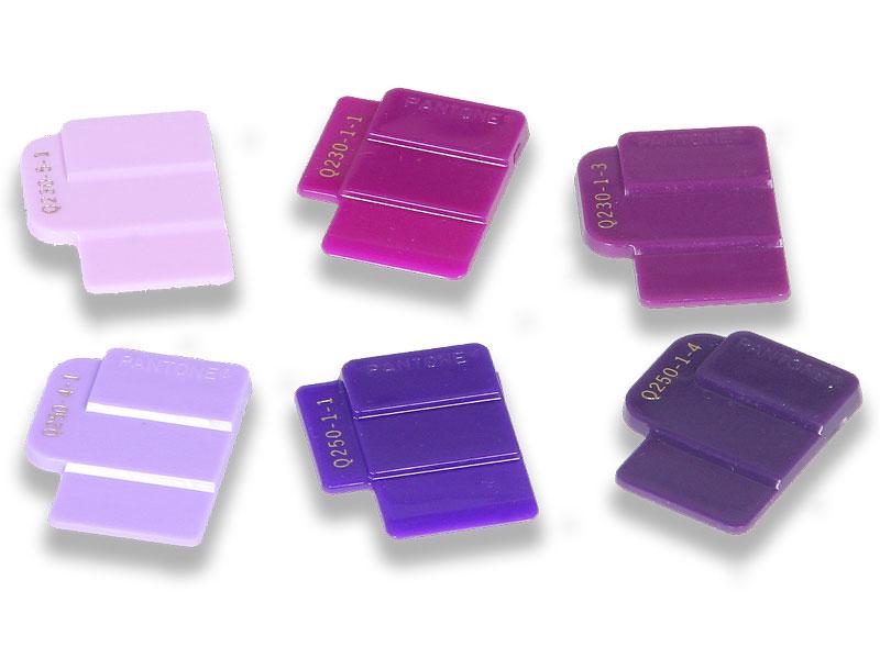 PANTONE Plastics Einzelchips