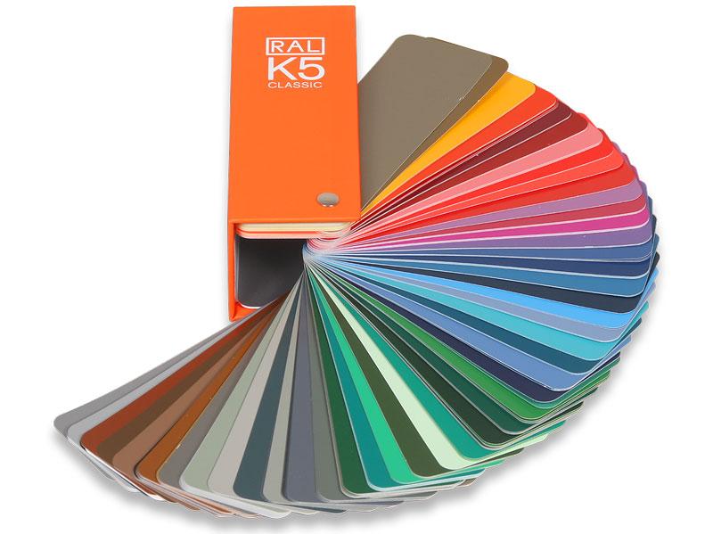 RAL K5 Farbfächer