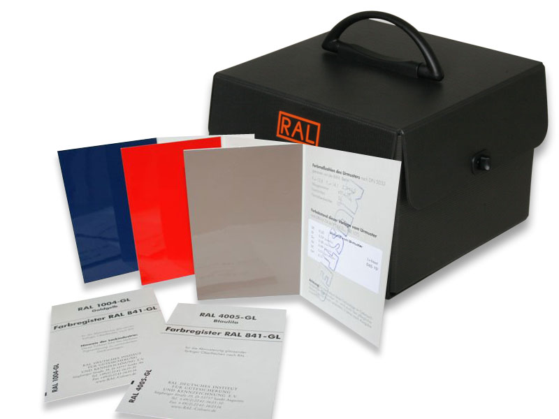 RAL 841-GL Farbregister
