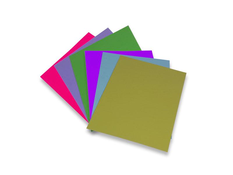 RAL Design color sheets DIN A6