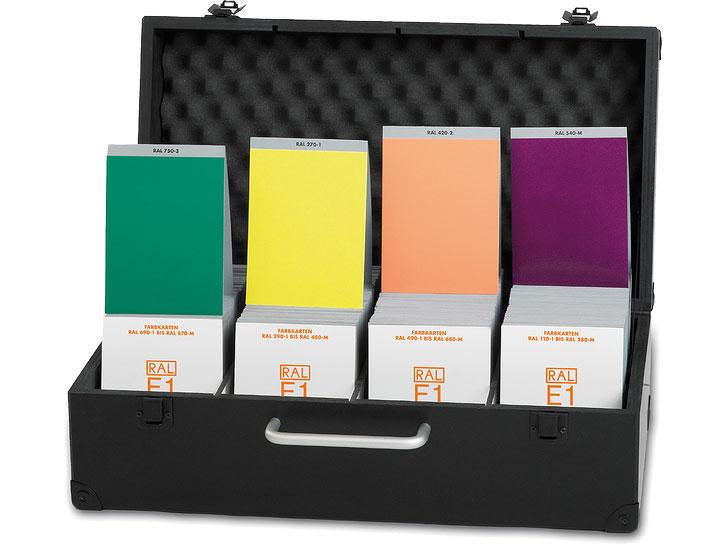 RAL E1 Effekt Registerbox