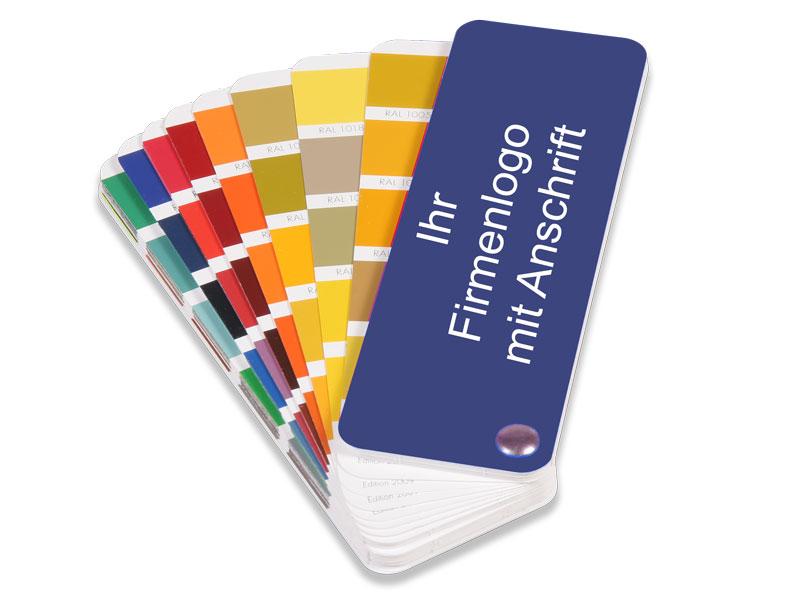 Personalisierter K7-Farbfächer