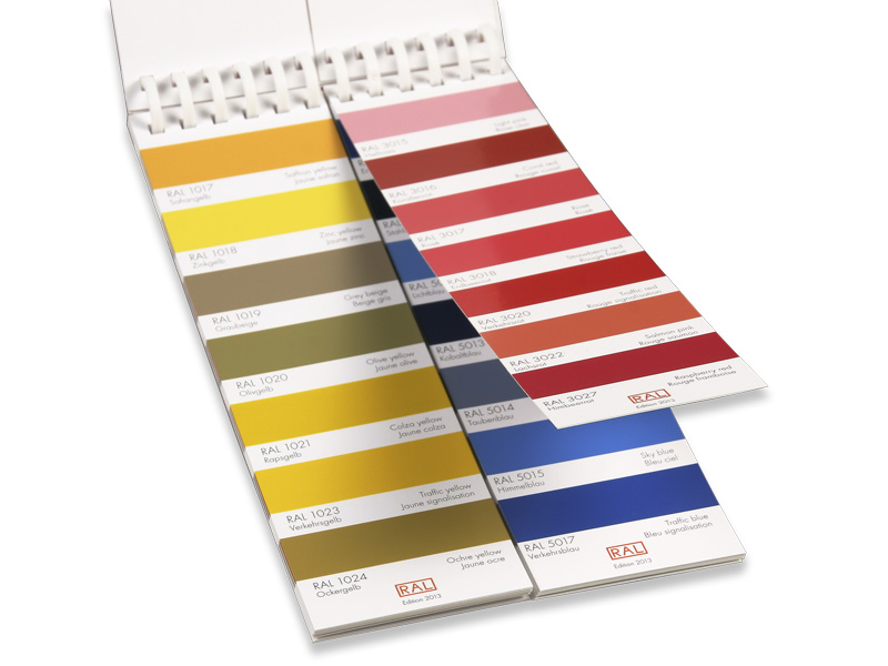 RAL K1 Advertising Color Card