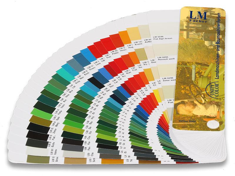 Landmaschinen - Farbfächer