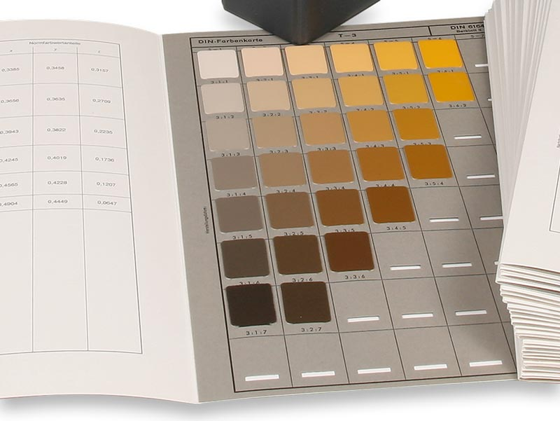 DIN 6164 Farbsystem
