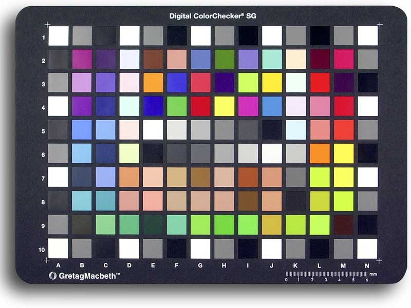 X-Rite Color Checker SG