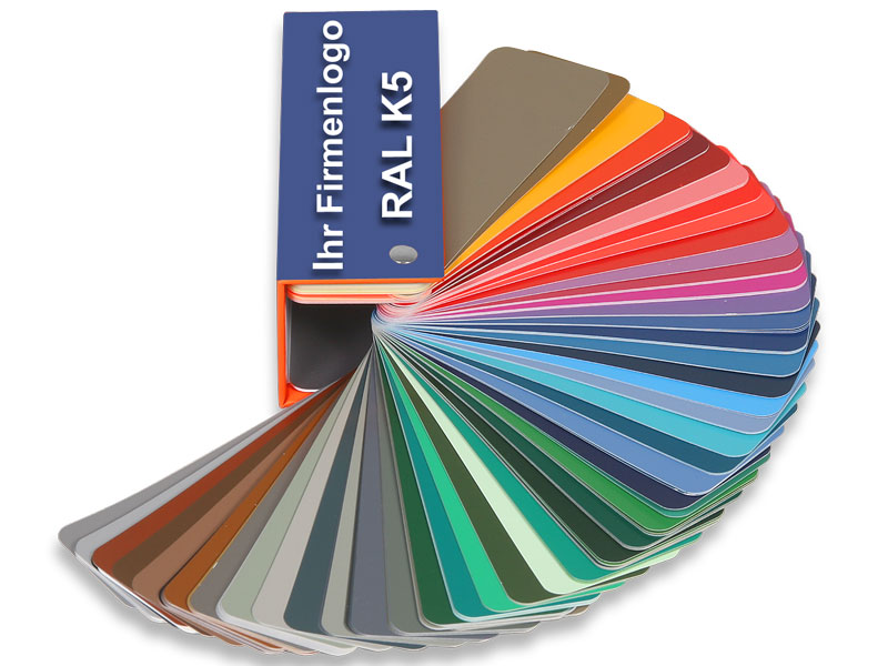 RAL K5 Advertising Color Fan