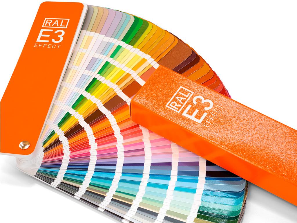 RAL E3 Effekt Farbfächer