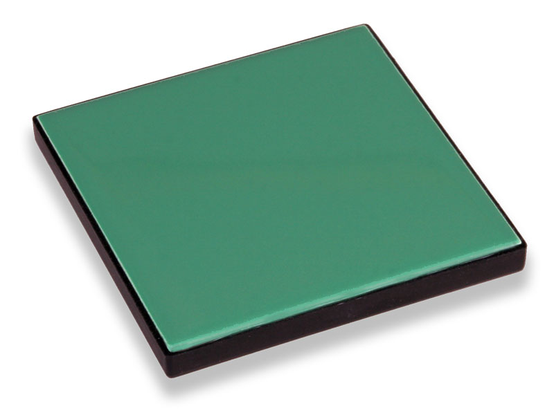 CCS II Green Tile 10x10 cm for Instrument Testing