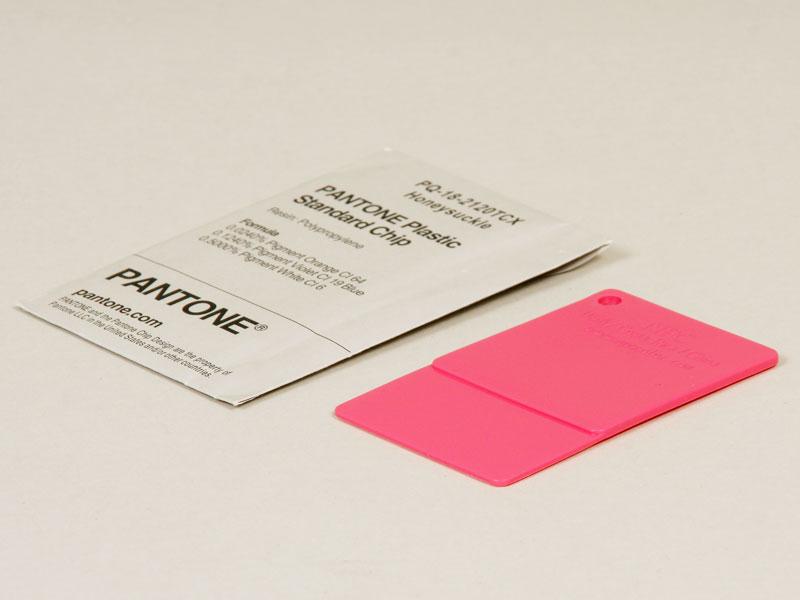 PANTONE Plastic Standard PP Farbchips