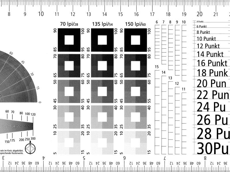 Typometer / Lithometer