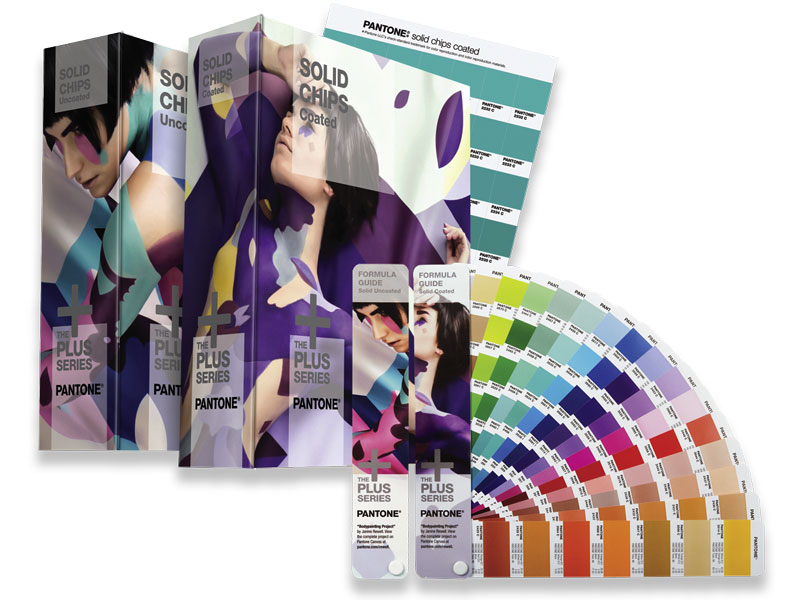 Pantone Solid Color Set Ringbücher & Fächer
