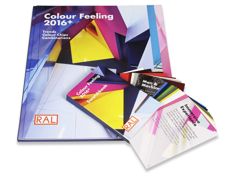 RAL COLOUR FEELING 2016+ Trendbuch