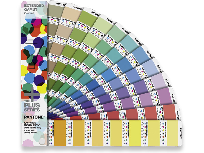PANTONE Extended Gamut Guide Farbfächer