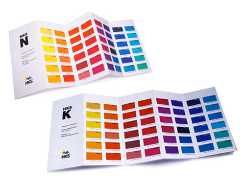 HKS Color Card Set cmyk