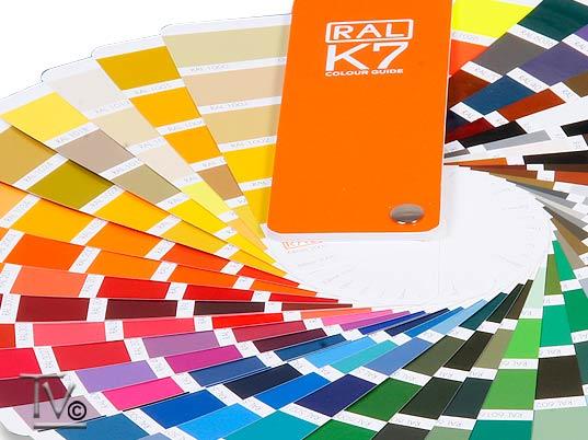 RAL-K 7 Color Fan