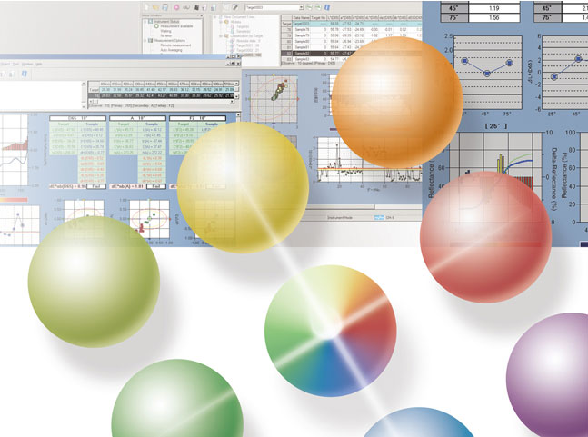 SpectraMagic NX color measuring software