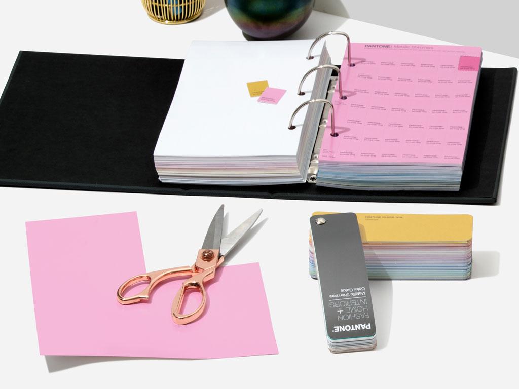Pantone FHI Metallics Shimmer Ringbuch