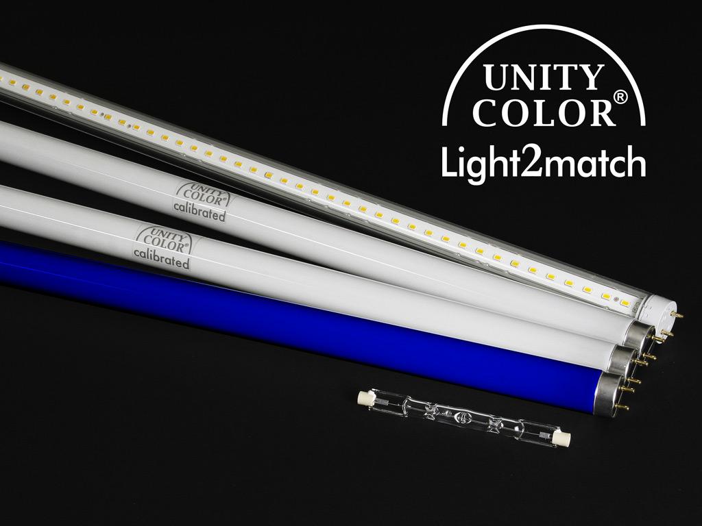Ersatzröhrensatz UnityColor calibrated für Light2match