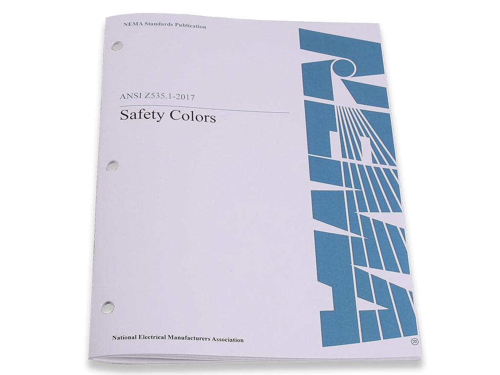 ANSI Z535.1-2017 Sicherheitsfarben