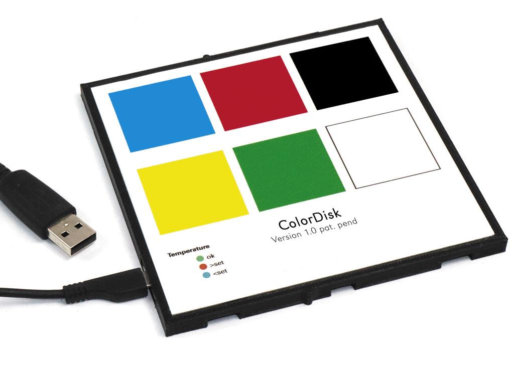 ColorDisk Farbstandard für Spektralfotometer