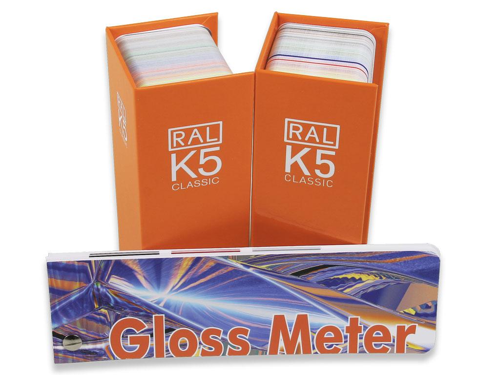 RAL K5 Set mit Torso® Gloss Meter