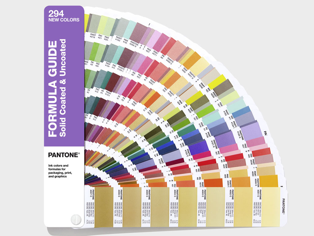 Supplement PANTONE Formula Guide c&u