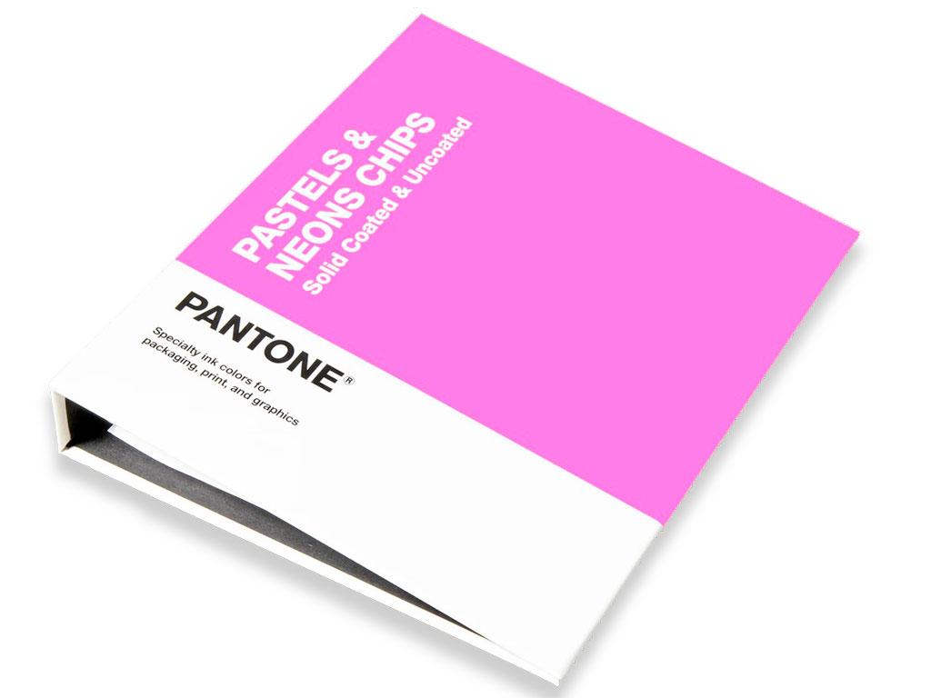 PANTONE Pastels & Neons Chipsbuch 2019