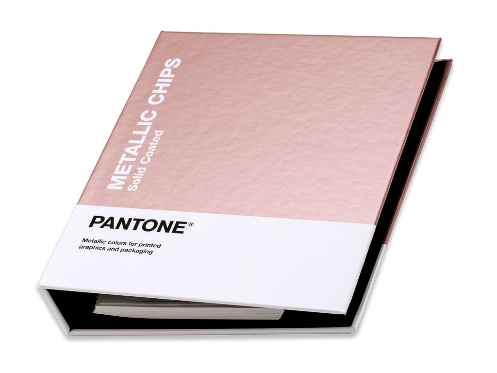 PANTONE Metallic Chips Solid coated 2019