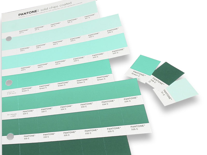 PANTONE Replacement Pages Solid Chips