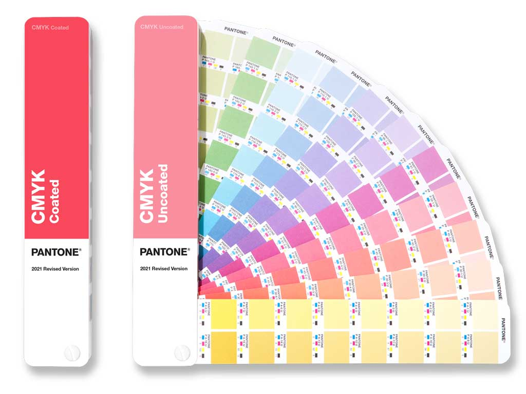 PANTONE CMYK Guide Set - 2 Farbfächer