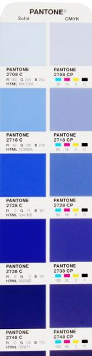 pantone farbf cher color bridge coated und uncoated. Black Bedroom Furniture Sets. Home Design Ideas