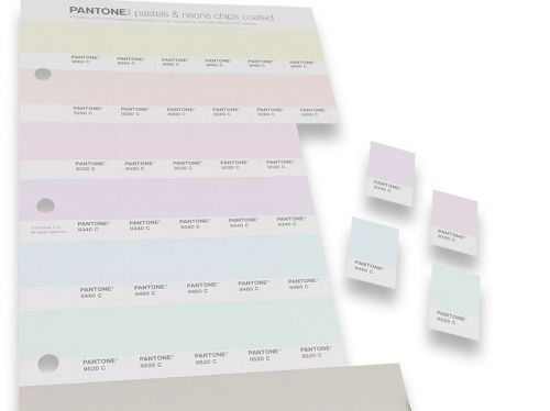 PANTONE Pastels & Neons Chips coated und uncoated