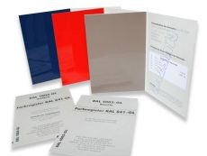 RAL 841-GL single color cards