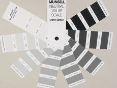 Munsell Greyscale Color Fan