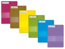 RAL P2 Plastics Einzelfarbmuster