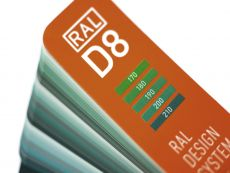 RAL DESIGN D8 Farbfächerbox