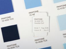 PANTONE Textile Cotton Chip Set 2 Ringbücher