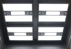 Normlichtkabine FourCabin mit 4 Deckenleuchten