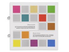 Information chart STANDARD COLORS