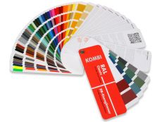 COMBI-Color Fan - RAL K7 with 14 DB Iron Mica colors