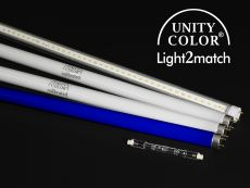 Replacement tube set UnityColor calibrated for Light2match