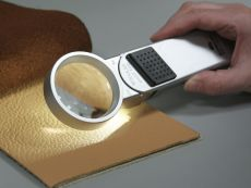 Luminous hand-held magnifier Tech-Line Modular as set
