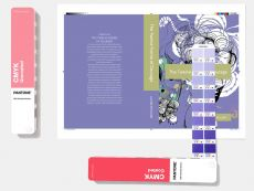 PANTONE CMYK Guide Set - 2 Farbfächer