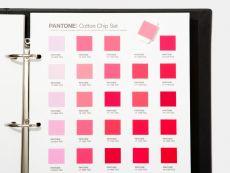 PANTONE Textile Cotton Chip Set Ringbücher