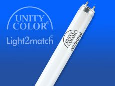 Fluorescent Tube 18W, D65 / D50 UnityColor calibrated