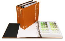PANTONE Plastics transparent 2 Ring Binder